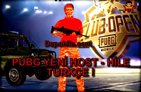 PUBG Mobile Yeni Host ve Hile Herşey Türkçe Script 29.07.2019