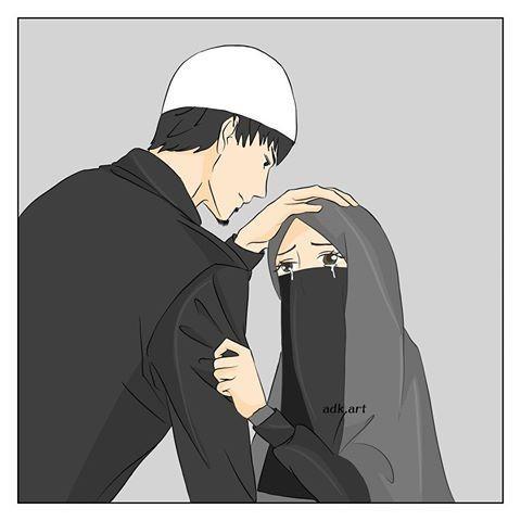 Gambar Kartun Wanita Pria Muslim Tangisan Seorang Wanita Muslimah Blog Bisnis Elysetiawan