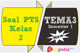 Latihan Soal PTS Tematik Tema 3 Kelas 2 SD Kurikulum 2013