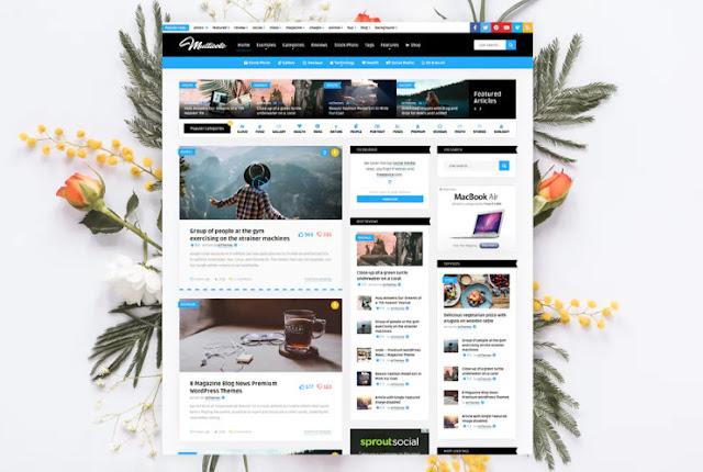 Free Download Multicote - News Magazine / WooCommerce WP Theme
