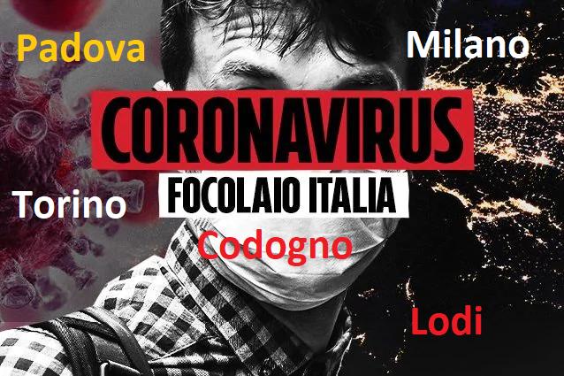 "أول حالتين بعدوى ""فيروس كورونا"" في تورينو وميلانو بعد لودي وبادوفا"