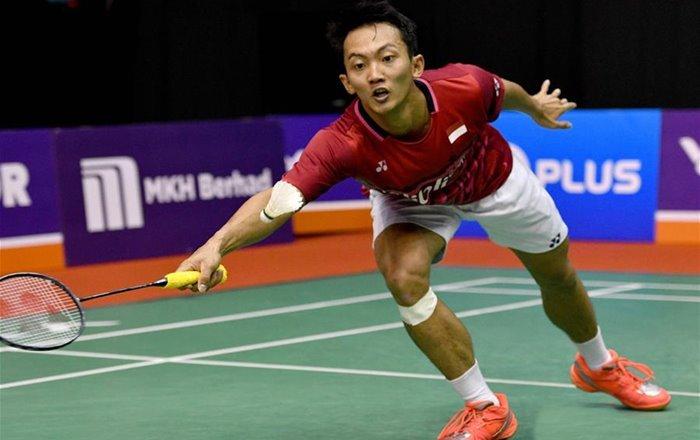 Semifinal Bangka Belitung Indonesia Masters 2018