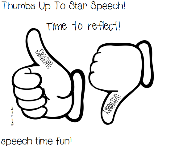 Reading Comprehension Stories: Thumbs Up To Star Speech