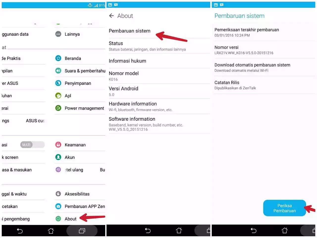 Kalau teman sudah usang memakai android Cara Upgrade OS Android ke Versi Terbaru Dalam Waktu 5 Menit