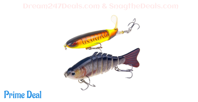 whopper plopper fishing lure 50% OFF