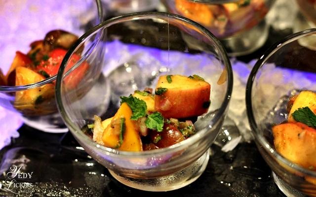 Fruit Chaat, Indian Food Buffet at HYATT COD Manila