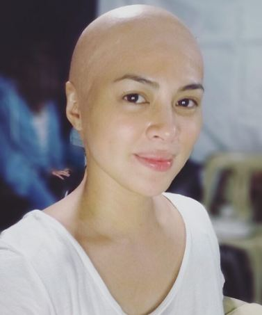 SPOTTED: Former Beauty Queen Lara Quigaman Pulls off the Bald Look! You Have Got to See This!