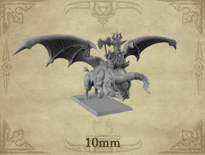 x1 Dwarf Lord Rider; x1 Taurus