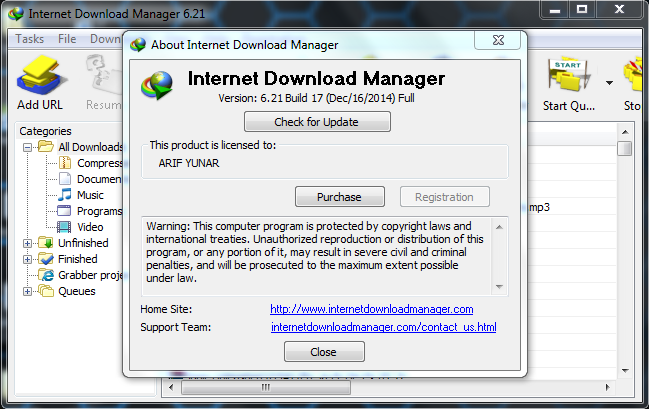 Download IDM 6.21 Build 17 Terbaru 2015 Full Version