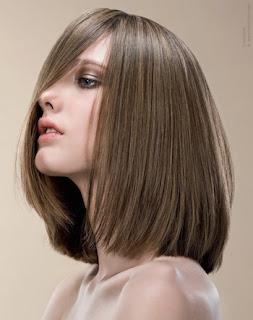 Model rambut dengan volume