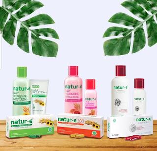 rangkaian produk natur-e berdasarkan usia dan kebutuhan