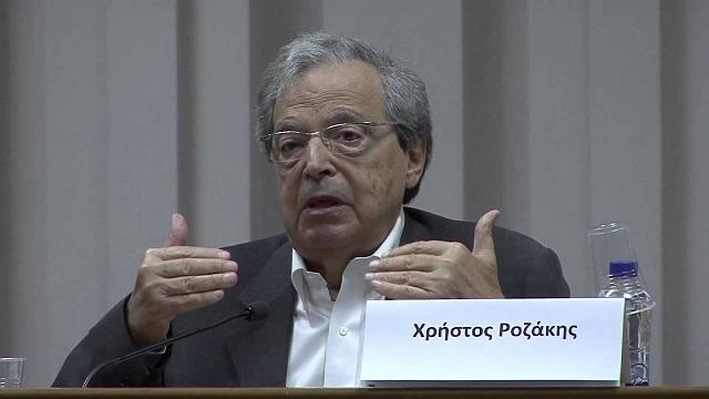 Χρ. Ροζάκης: Να εξετάσουμε το ενδεχόμενο προσφυγής εναντίον της Λιβύης για το τουρκολιβυκό σύμφωνο