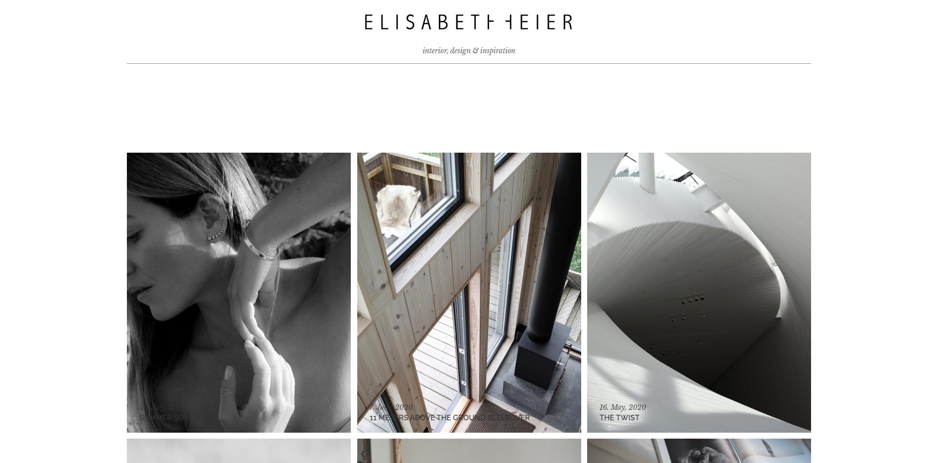 Elisabeth blogin etusivu