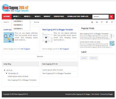 New Sugeng 2015 V2 - Template Super SEO Fast Loading