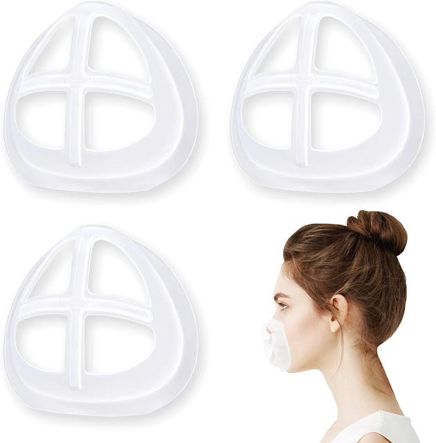 How to use more space in the support frame inside the Face mask?