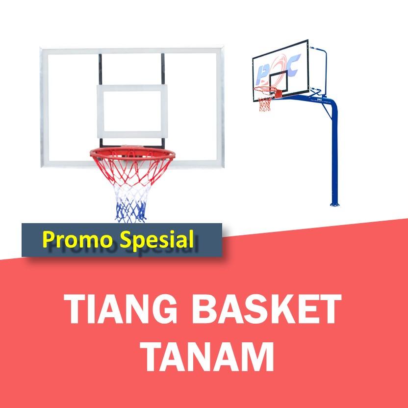 Tiang Basket Tanam