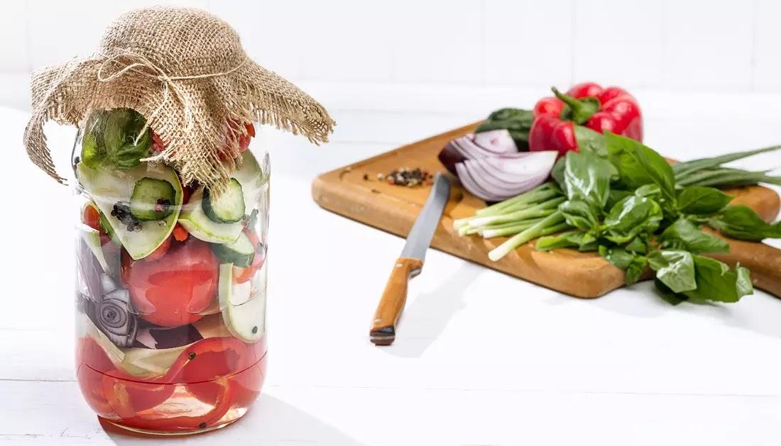 Tomate e Cebola em Conserva