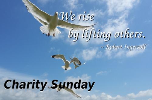 Charity Sunday blog
