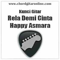 Chord Kunci Gitar Happy Asmara Rella Demi Cinta