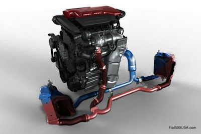 Fiat 500 Abarth engine