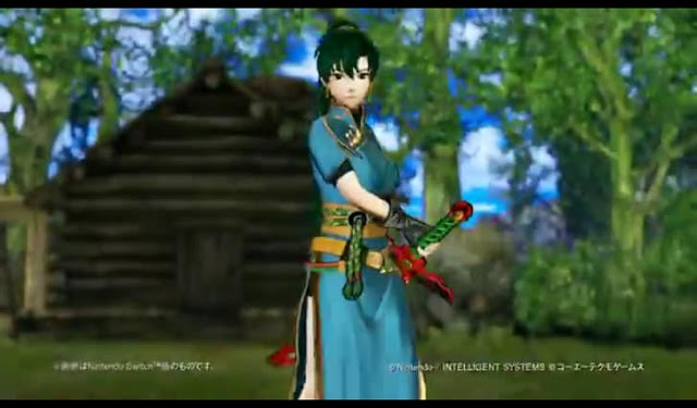 Third Screenshot from Fire Emblem Heroes Trailer- Cecilia intro.