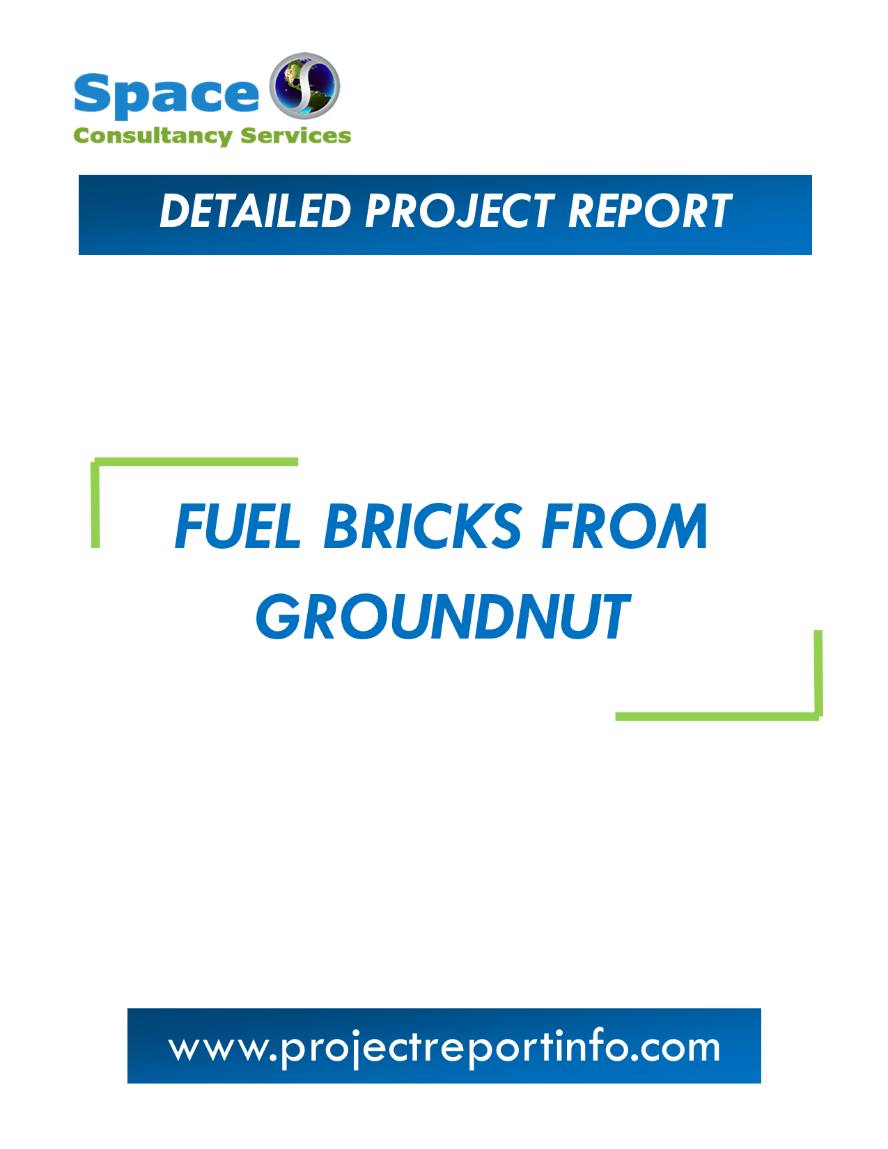 Project Report on Fuel Bricks from Groundnut Manufacturing