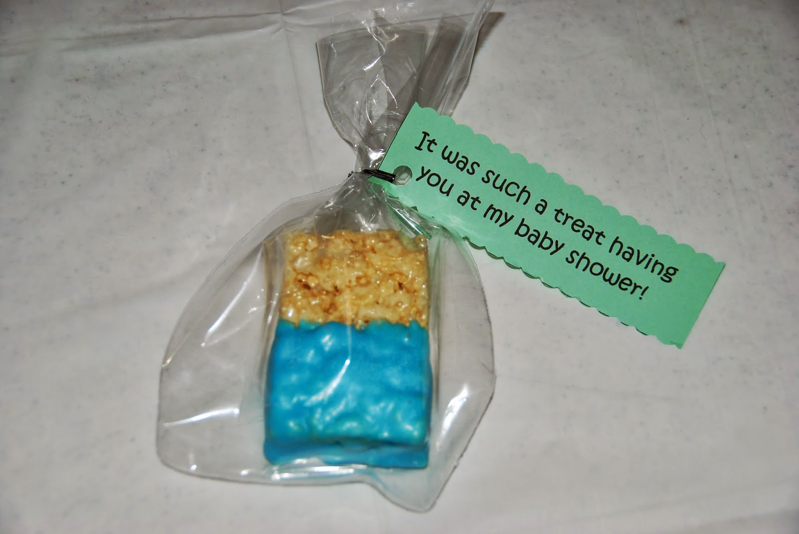 Loving Life Baby Shower Party Favor Treats