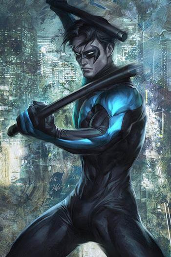 En los cómics, Dick Grayson es Nightwing
