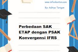 Perbedaan SAK ETAP dengan PSAK Konvergensi IFRS