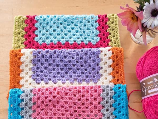 Easy Peasy Blanket - OMG April 2020