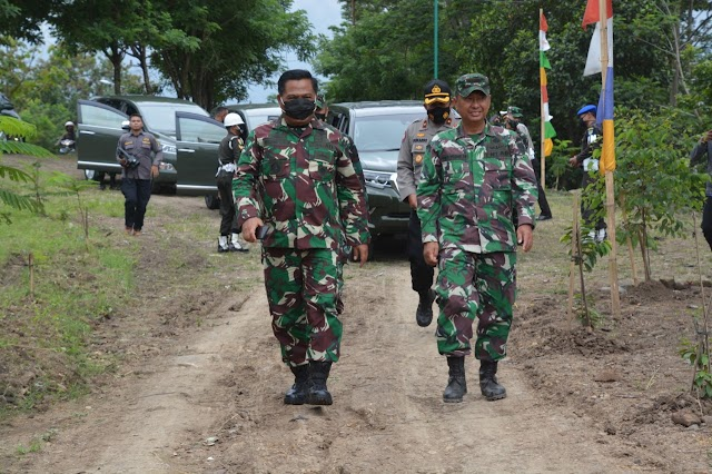 Pangdam III/Siliwangi Kunjungi Sektor 8 Satgas Citarum Harum