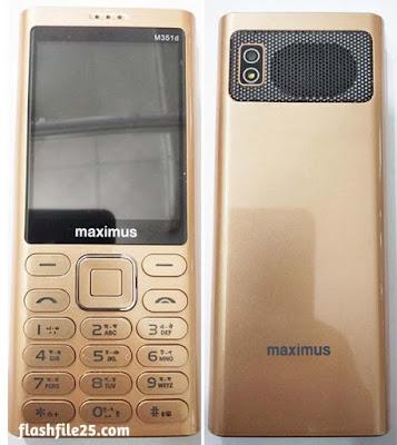 Maximus M351d Flash File