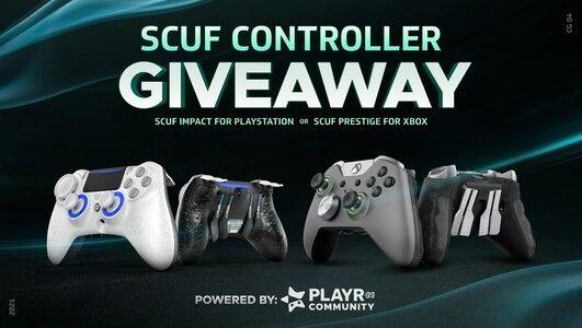 SORTEIO Controle Scuf Impact para PS4 ou Controle Prestige SCUF para Xbox