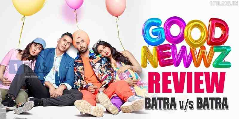 Good Newwz Good News Movie Review Poster