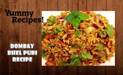 Bombay Bhel Puri Recipe - How To Make Bhel Puri Recipe