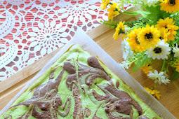 Matcha Cheesecake Brownies