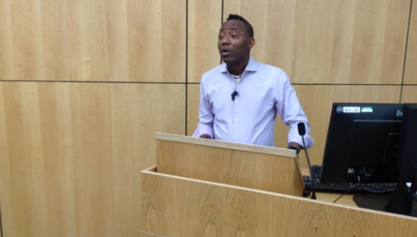 Sowore asks court to stop Saraki's N4bn judgment claim