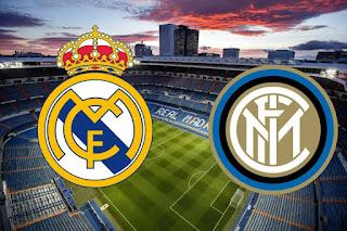 مباراة ريال مدريد وانتر ميلان دوري المجموعات من دوري ابطال اوربا 2020