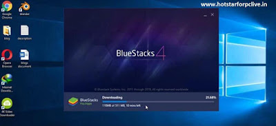 Bluestacks on your PC