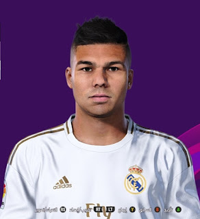 PES 2020 Faces Casemiro by So PES