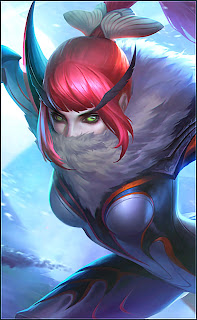Hanabi Fiery Moth Heroes Marksman of Skins V2