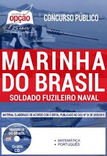 Apostila Soldado Fuzileiro Naval da Marinha do Brasil 2018