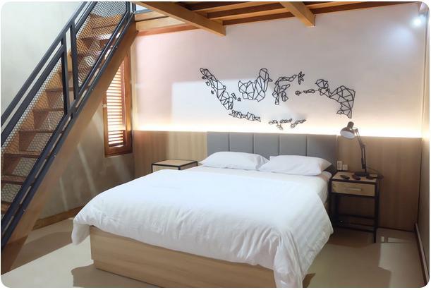 penginapan tipe loft di yogyakarta