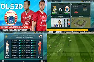 DLS 2020 Persija Liga 1 Indonesia 2020/2021