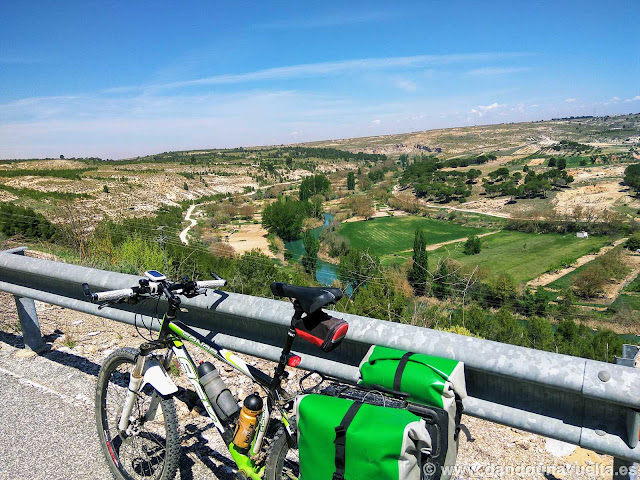 Carretera mirador del río Júcar