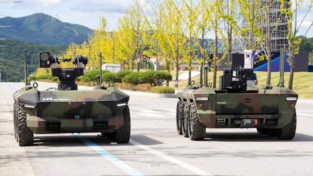 Hyundai Serahkan Dua Tank Tanpa Awak Untuk Uji Coba Pada AD Korea