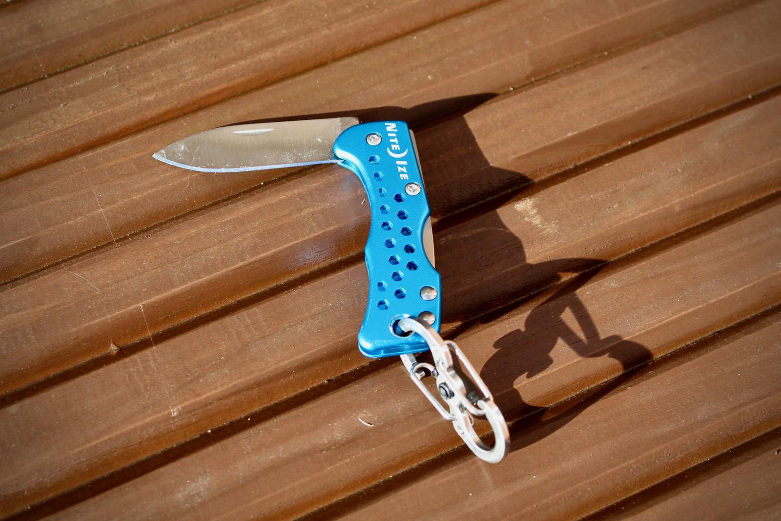 NiteIze Mini Keyring Penknife | Tim Wiggins