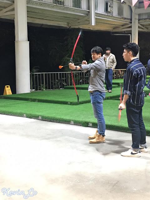 拉波波村營區娛樂活動射箭