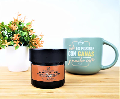 The Body Shop -  Mascarilla facial de café