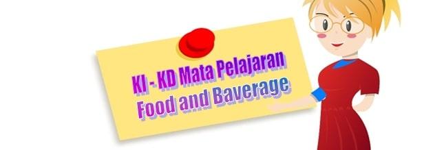 KI KD Food and Baverage Perhotelan SMK